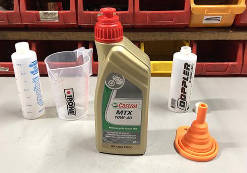 10W40 caja de cambios y aceite de embrague