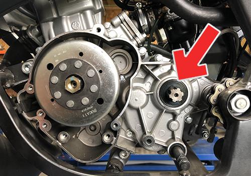 getriebe wellendichtring Derbi 50cc