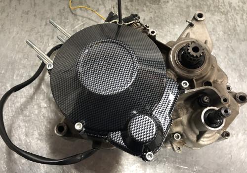 tapa de encendido de carbono AM6 Minarelli