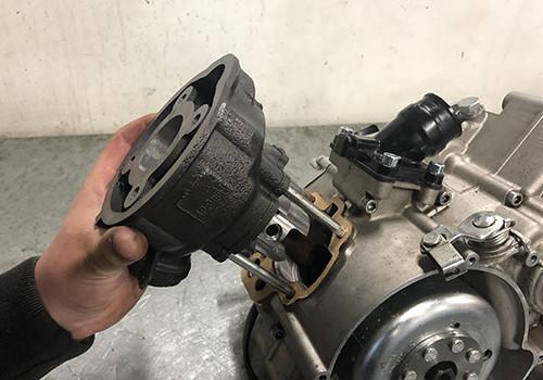 Cilindro de pistón AM6 Minarelli tipo 50cc