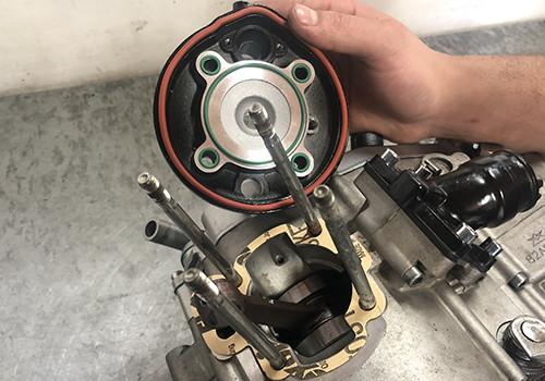 joints haut moteur DR Racing AM6 Minarelli 50cc