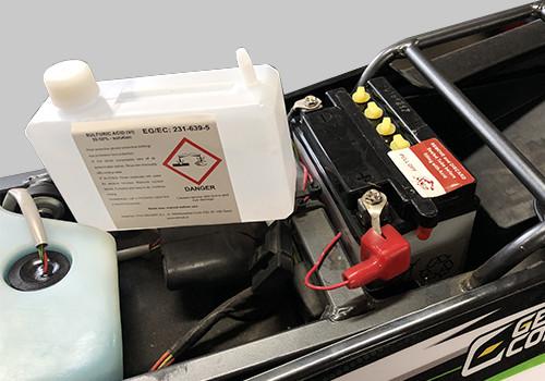 Batterie YB4L-B 12V 4Ah pour moto et scooter