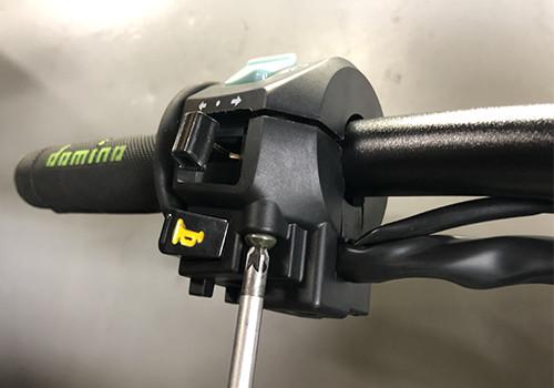 Commodo ha lasciato la moto 50, scooter, cyclo, 125