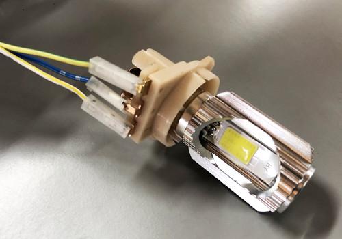 ampoule de phare led moto, scooter 12V BA20D blanc