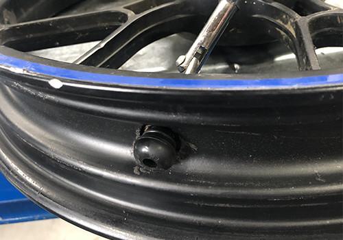 Válvula de neumático sin cámara para moto 50cc con caja