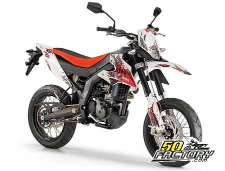 Moto 50cc Derbi Senda SM X-Race euro 3