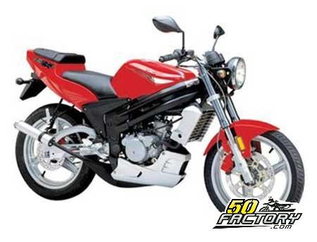 Moto 50cc Rieju RS2 NKD