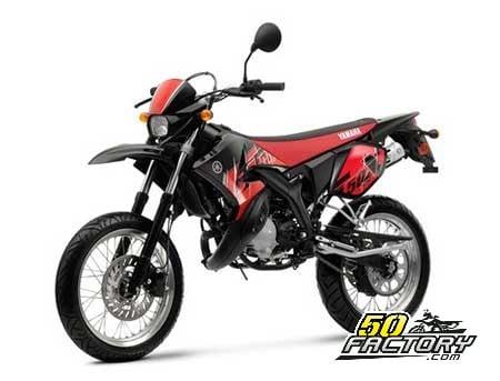 Moto 50cc Yamaha DT 50 SM de 2007 à 2011