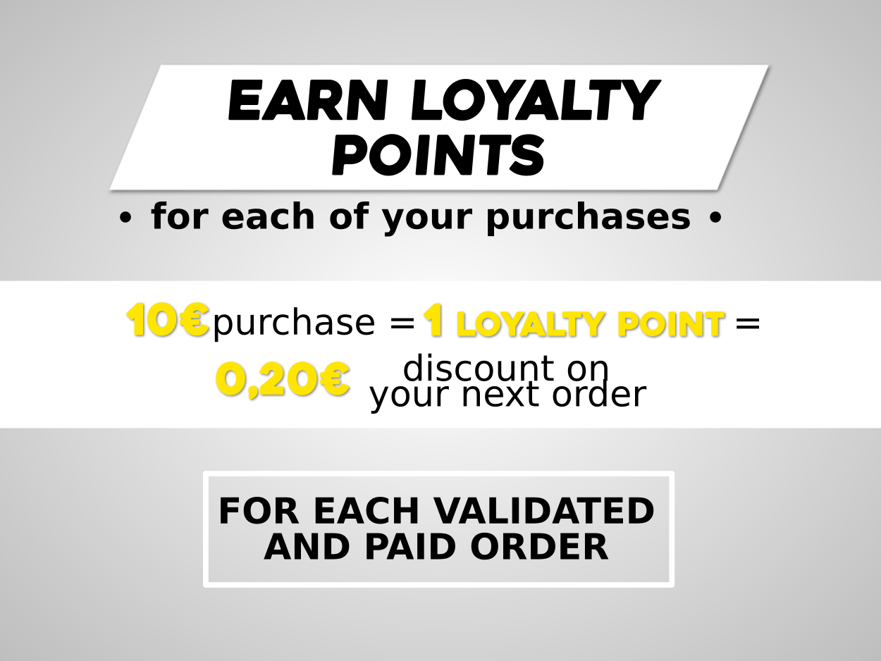 50 loyalty pointsfactory