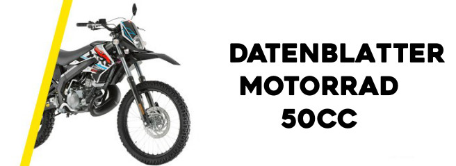 Technische Daten 50cc Motorräder