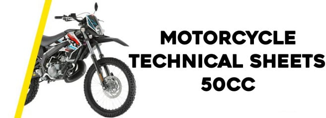 50cc Motorcycle specifications