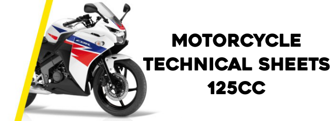 125cc Motorcycle specifications