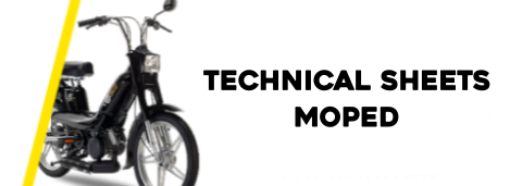 Moped technical data sheets