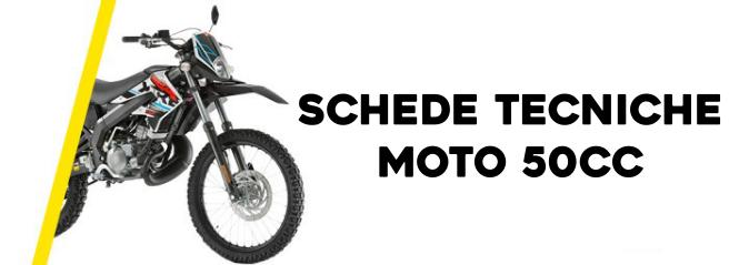 Schede tecniche moto 50cc