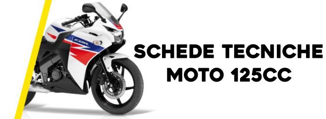 Schede tecniche moto 125cc