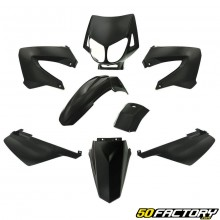 Kit carenatura nera v4 Derbi Senda,  Gilera Smt, Rcr