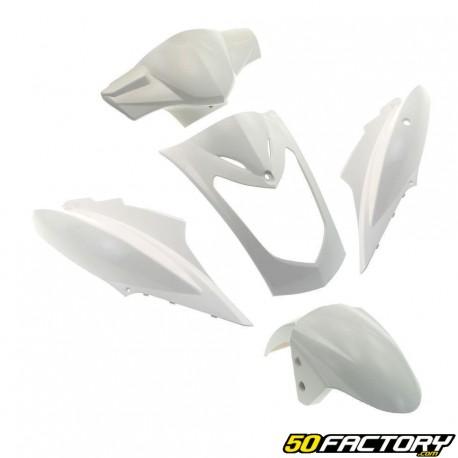 Kit fairings white Kymco Agility