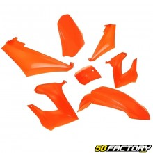 Kit carenados naranja Derbi Senda,  Gilera Smt, Rcr
