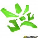 Kit de carenado verde Derbi Senda,  Gilera Smt, Rcr