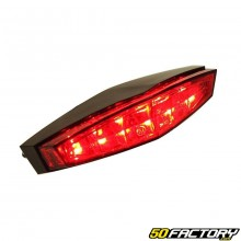 Red stop light with leds