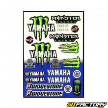 Yamaha Monster set of stickers