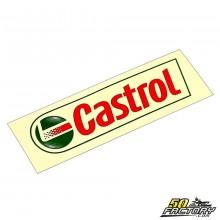 Sticker Castrol rouge et vert 100x30mm