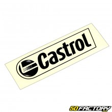 Sticker Castrol noir 100x30mm