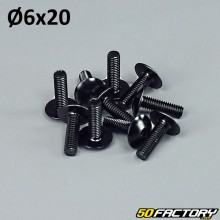Pack 10 vis 6x20mm tuning noir