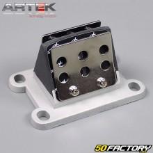 Clapets fibre Artek K1 moteur Derbi, AM6, Morini