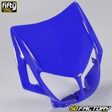 Careta frontal FACTORY Derbi azul Senda,  Gilera Smt, Rcr
