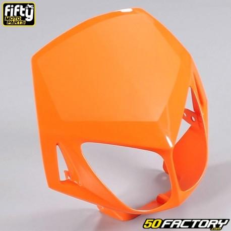 Careta frontal FACTORY naranja Derbi Senda DRD Racing