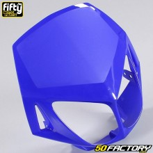 Careta tapa frontal FACTORY azul Derbi Senda DRD Racing