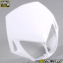 Careta frontal FACTORY color blanco Derbi Senda DRD Racing