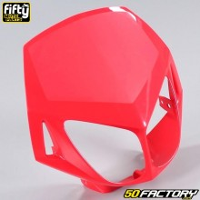 Careta tapa frontal FACTORY rojo Derbi Senda DRD Racing