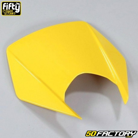 Careta tapa frontal FACTORY amarillo Derbi Senda DRD Xtreme, Smt, Rcr