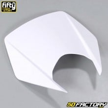 Careta frontal FACTORY color blanco Derbi Senda DRD Xtreme, Smt, Rcr