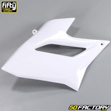 Carenado delantero izquierdo FACTORY color blanco Derbi Senda DRD Racing