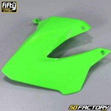 Carenado delantero izquierdo FACTORY verde Derbi Senda,  Gilera Smt, Rcr