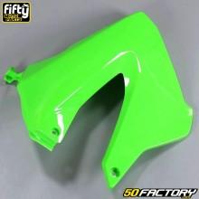 Carenado delantero derecho FACTORY Derbi verde Senda,  Gilera Smt, Rcr