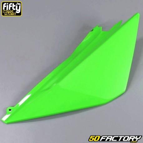 Carenado trasero izquierdo FACTORY verde Derbi Senda DRD Racing