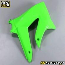 Carenado delantero derecho FACTORY verde Derbi Senda DRD Xtreme, Smt, Rcr