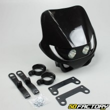 Careta frontal Enduro negro