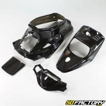 Kit fairings black Mbk Booster,  Yamaha Bws before 2004
