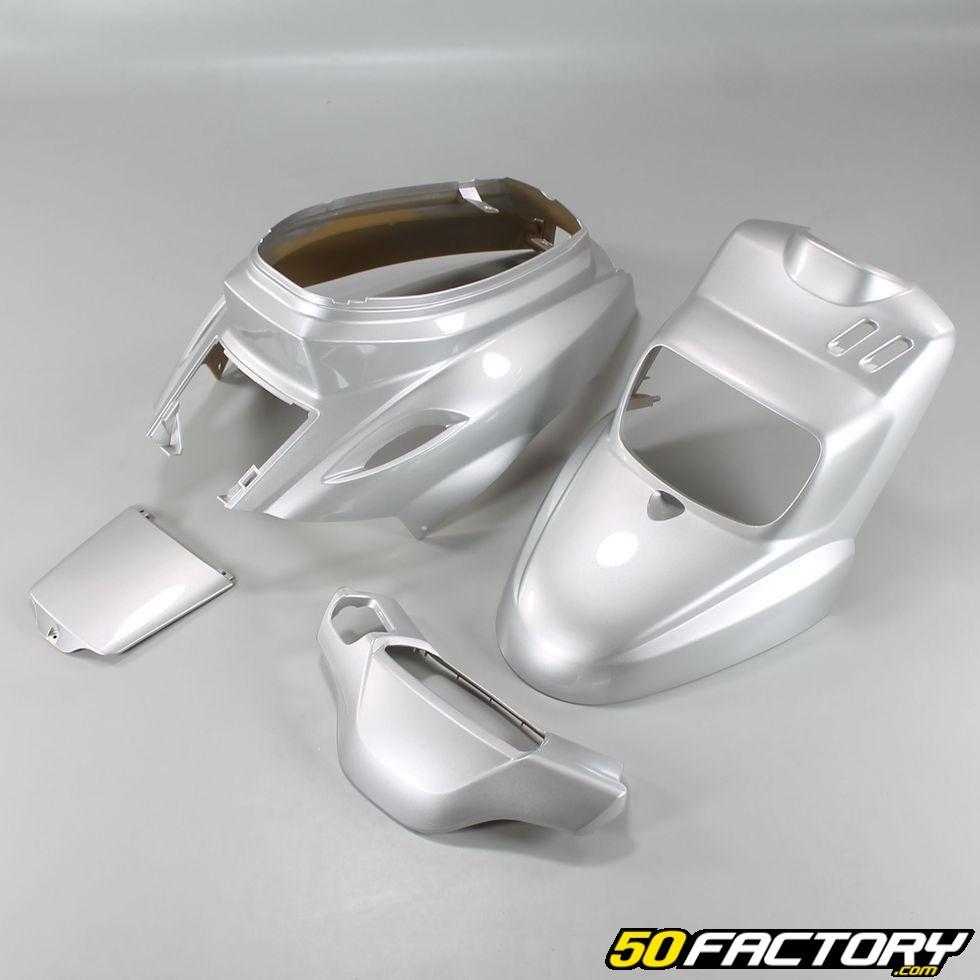 Mbk booster. kit carénages gris métalisé pièce moto