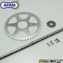 Kit chaîne Afam 11x47x126 Rieju RS2 Matrix, Pro, Nkd