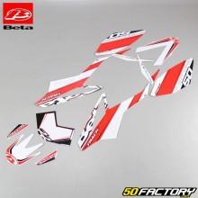 Kit déco rouge et blanc origine Beta RR Track depuis 2011