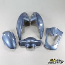 Kit carénages bleu Kymco Agility 10 et 12 pouces