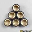 Rodillos de variador 5,5g 15x12 mm Aprilia, Benelli, Cpi, Mbk /Yamaha...
