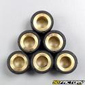 Rodillos inversores 7g 16x13 mm Baotian, Honda, Kymco,  Peugeot, Pgo, Piaggio  et  Sym.