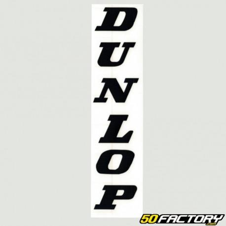 Dunlop Motorcycles Motorbike Bike Race Racing Decals Stickers White 50mm